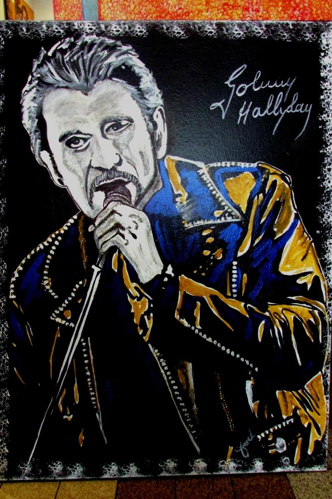 Johnny Hallyday by JUD